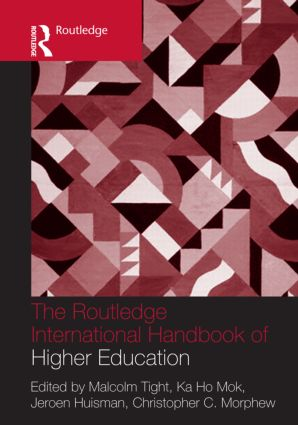 The Routledge International Handbook of Higher Education (Hardback) book cover