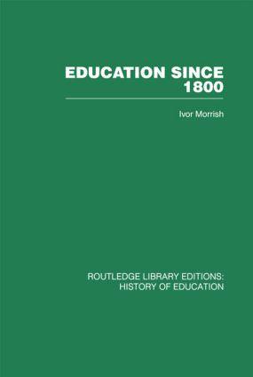 Education Since 1800 (Hardback) book cover
