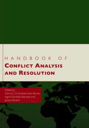 Handbook of Conflict Analysis and Resolution (Hardback) book cover