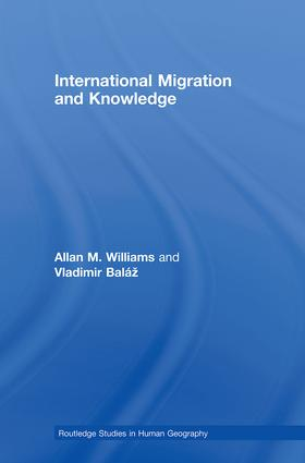 International Migration and Knowledge (Hardback) book cover