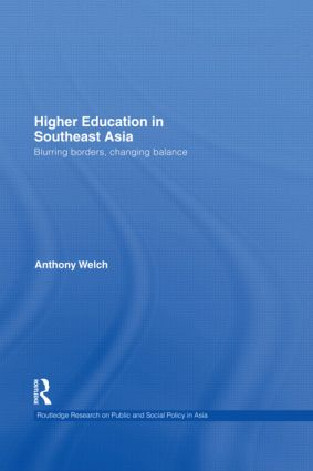Higher Education in Southeast Asia: Blurring Borders, Changing Balance (Hardback) book cover
