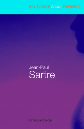 Jean-Paul Sartre (Paperback) book cover