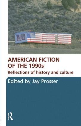 American Fiction of the 1990s: Reflections of history and culture, 1st Edition (Paperback) book cover