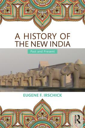 A History of the New India: Past and Present (Paperback) book cover