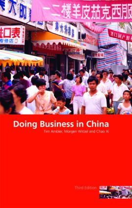 Doing Business in China: 3rd Edition (Paperback) book cover