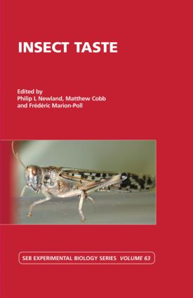 Insect Taste: Vol 63 (Hardback) book cover