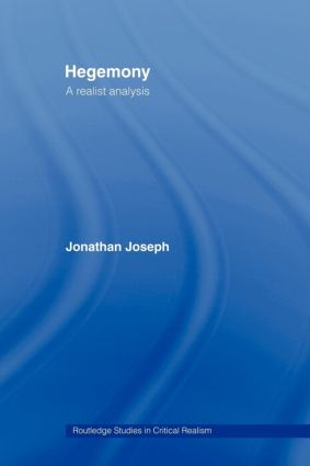 Hegemony: A Realist Analysis, 1st Edition (Paperback) book cover