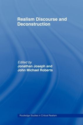 Realism Discourse and Deconstruction book cover