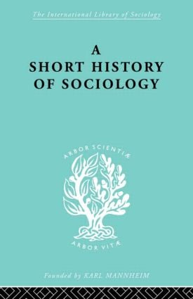 The Antecedents of Sociology