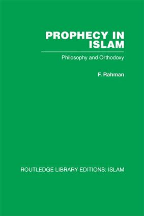Prophecy in Islam (Hardback) book cover