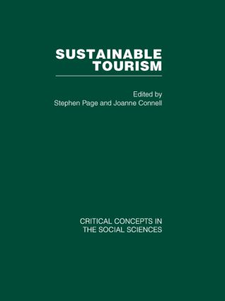 Sustainable Tourism (Hardback) book cover