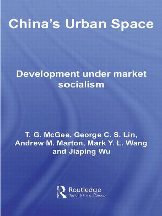 China's Urban Space: Development under market socialism, 1st Edition (Hardback) book cover