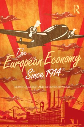 The European Economy Since 1914 (Paperback) book cover