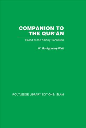 Companion to the Qur'an: Based on the Arberry Translation (Hardback) book cover