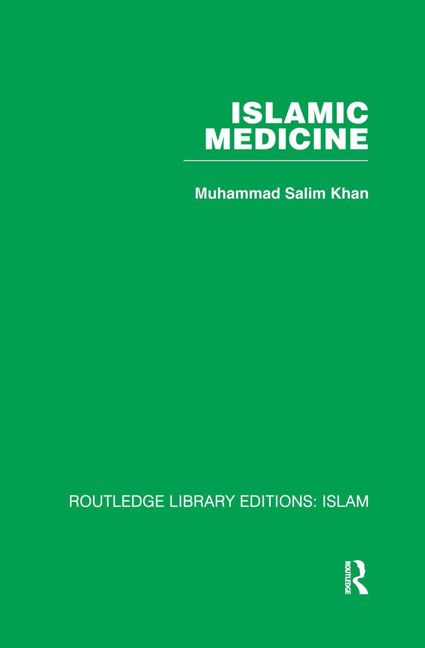 Islamic Medicine (Hardback) book cover