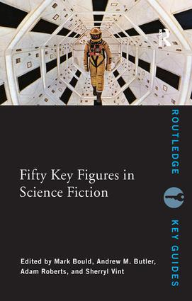 Fifty Key Figures in Science Fiction (Paperback) book cover