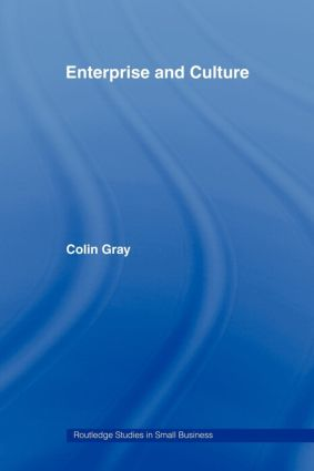 Enterprise and Culture (Paperback) book cover