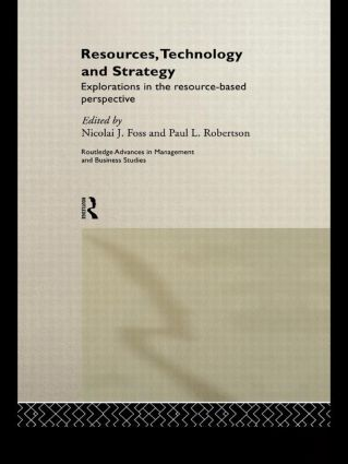 Resources, Technology and Strategy (Paperback) book cover