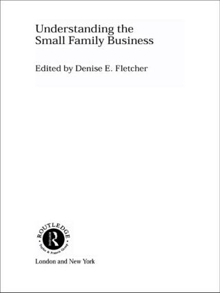 Understanding the Small Family Business (Paperback) book cover