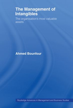 The Management of Intangibles: The Organisation's Most Valuable Assets, 1st Edition (Paperback) book cover