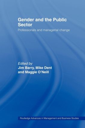 Gender and the Public Sector: 1st Edition (Paperback) book cover
