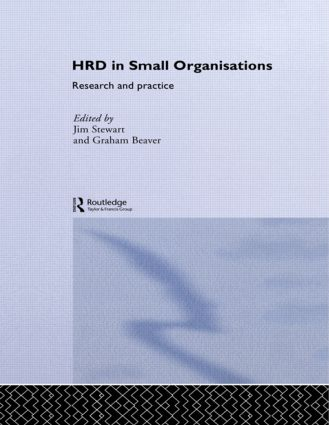 Human Resource Development in Small Organisations: Research and Practice book cover