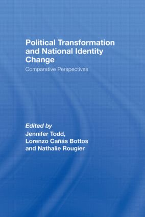 Political Transformation and National Identity Change: Comparative Perspectives (Hardback) book cover