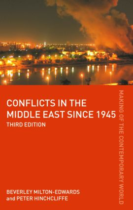 Conflicts in the Middle East since 1945: 3rd Edition (Paperback) book cover