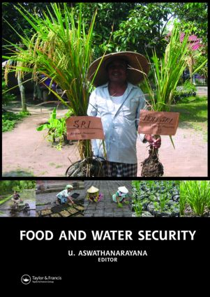 Food and Water Security: 1st Edition (Paperback) book cover