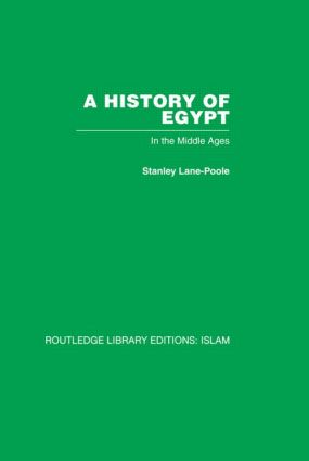 A History of Egypt: In the Middle Ages, 1st Edition (Hardback) book cover