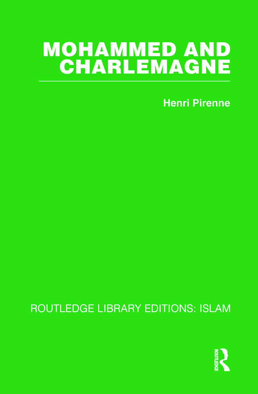 Mohammed and Charlemagne: 1st Edition (Hardback) book cover