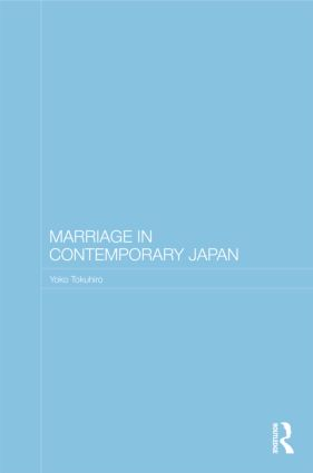 Marriage in Contemporary Japan book cover