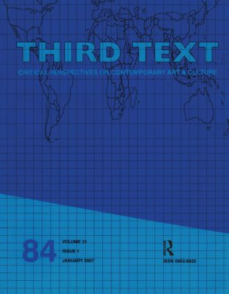 Third Text: 21.1, 1st Edition (Paperback) book cover