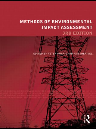Methods of Environmental Impact Assessment: 3rd Edition (Paperback) book cover