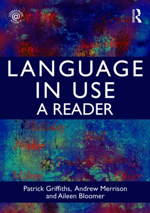 Language in Use: A Reader (Paperback) book cover