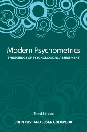 Modern Psychometrics, Third Edition: The Science of Psychological Assessment, 3rd Edition (Paperback) book cover