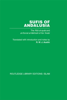 Sufis of Andalucia: The Ruh al-Quds and Al-Durat Fakhirah (Hardback) book cover