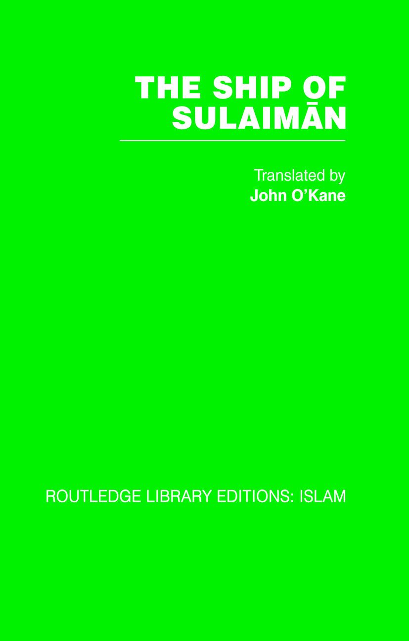 The Ship of Sulaiman (Hardback) book cover