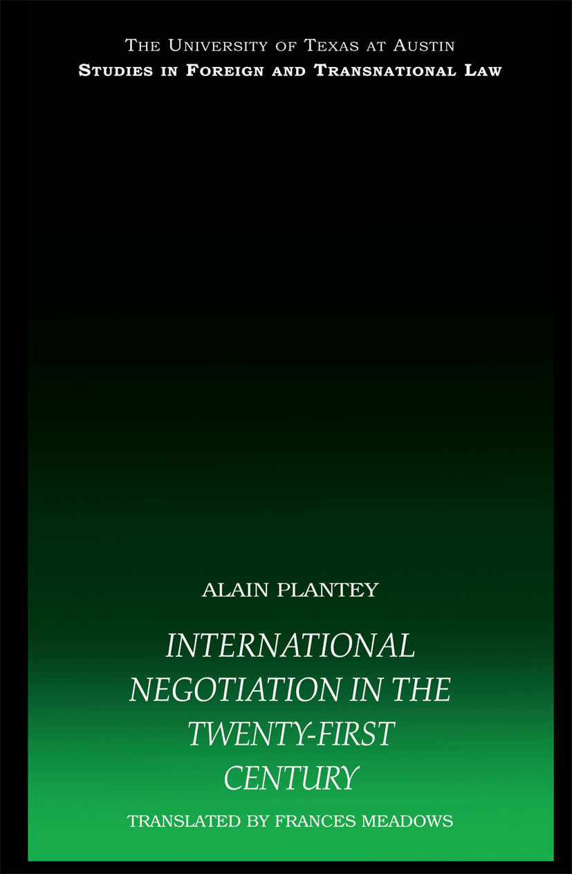 International Negotiation in the Twenty-First Century (Paperback) book cover