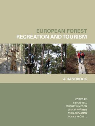 European Forest Recreation and Tourism: A Handbook (Hardback) book cover