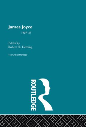 James Joyce (Hardback) book cover