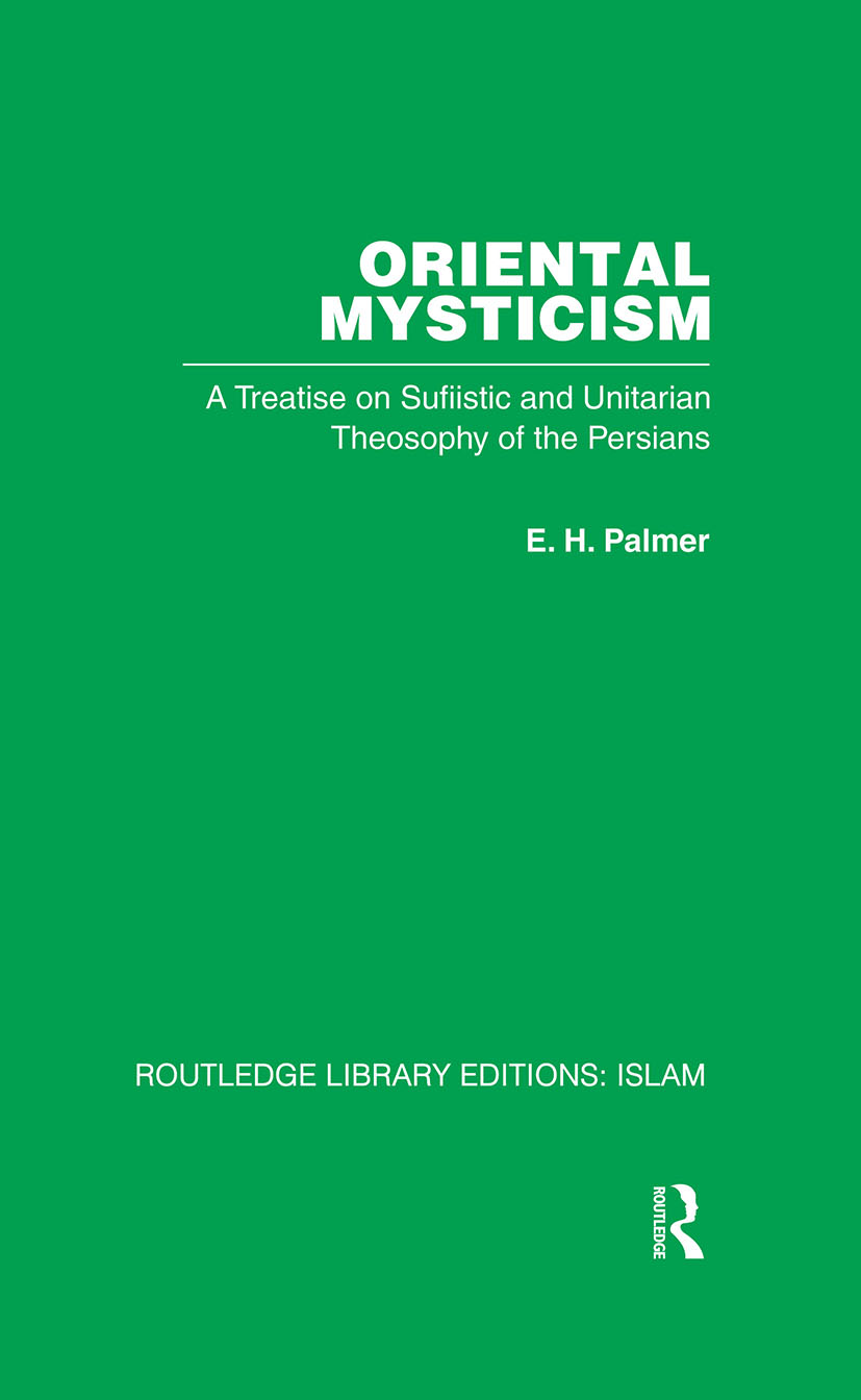 Oriental Mysticism: 1st Edition (Hardback) book cover