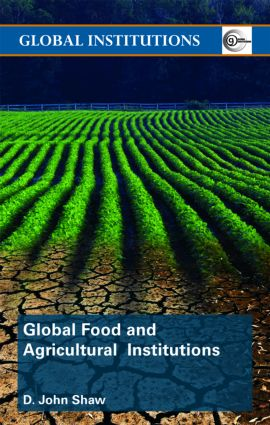 Global Food and Agricultural Institutions (Paperback) book cover