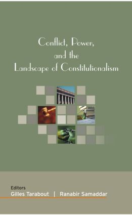 Conflict, Power, and the Landscape of Constitutionalism (Hardback) book cover