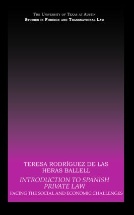 Introduction to Spanish Private Law: Facing the Social and Economic Challenges book cover