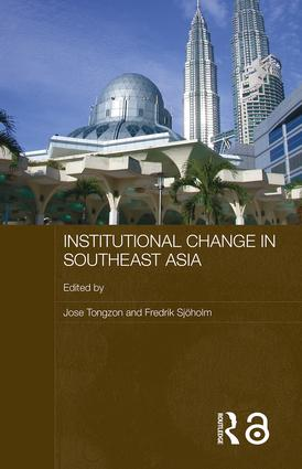 Institutional Change in Southeast Asia book cover