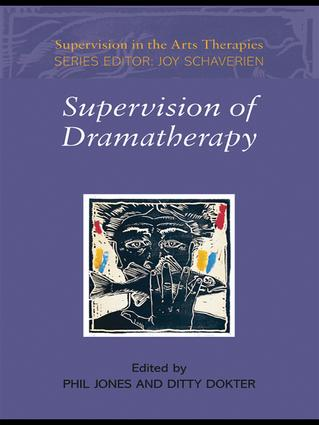 Supervision of Dramatherapy book cover