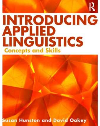 Introducing Applied Linguistics: Concepts and Skills (Paperback) book cover