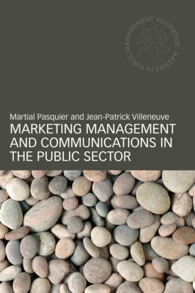 Marketing Management and Communications in the Public Sector (Paperback) book cover
