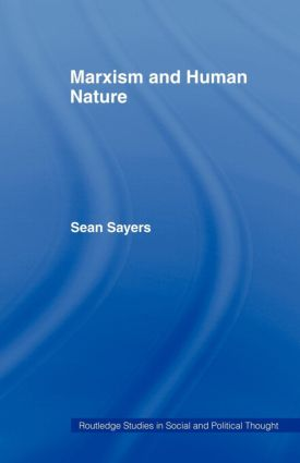 Marxism and Human Nature: 1st Edition (Paperback) book cover